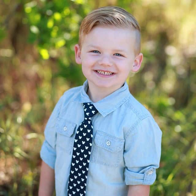 40 Sweet Little Boy Haircuts - Most Parents Prefer