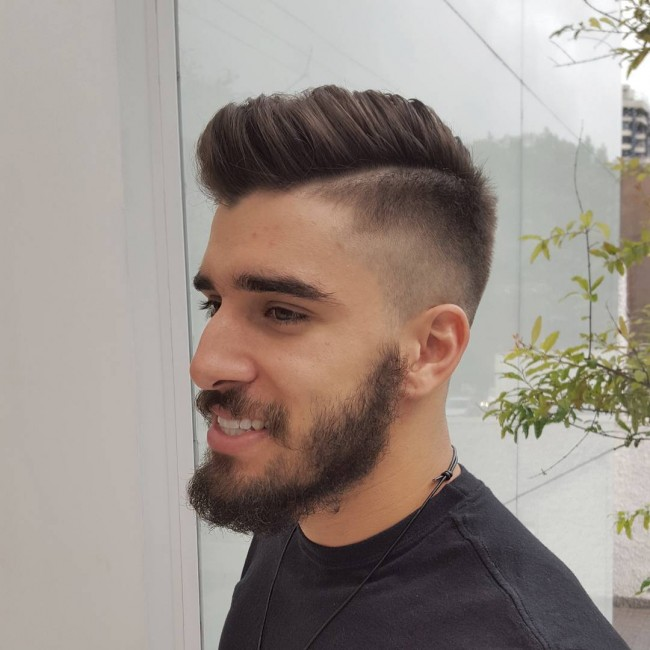Image Gallery High Fade Haircut