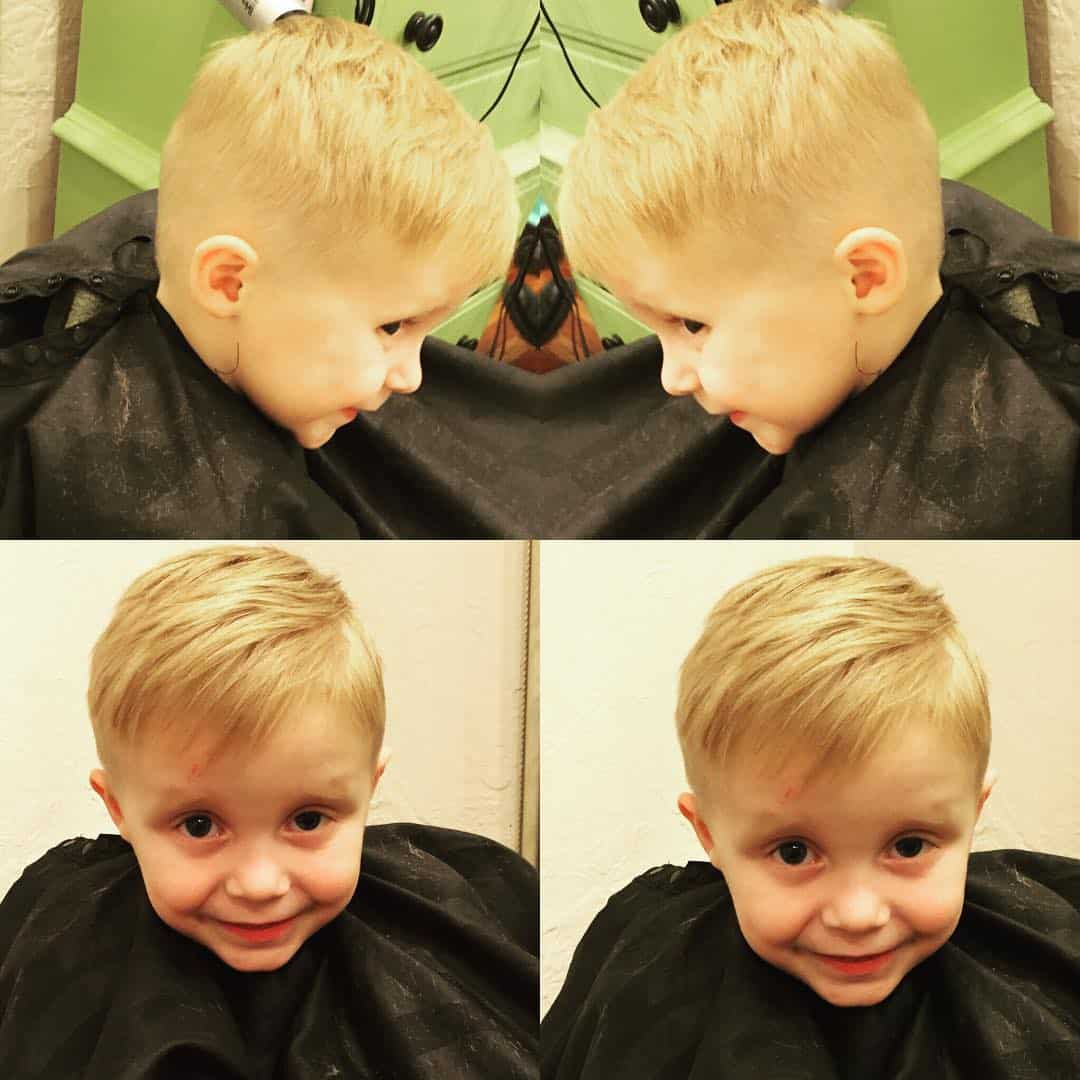 Stupendous 40 Sweet Little Boy Haircuts Most Parents Prefer Hairstyles For Women Draintrainus