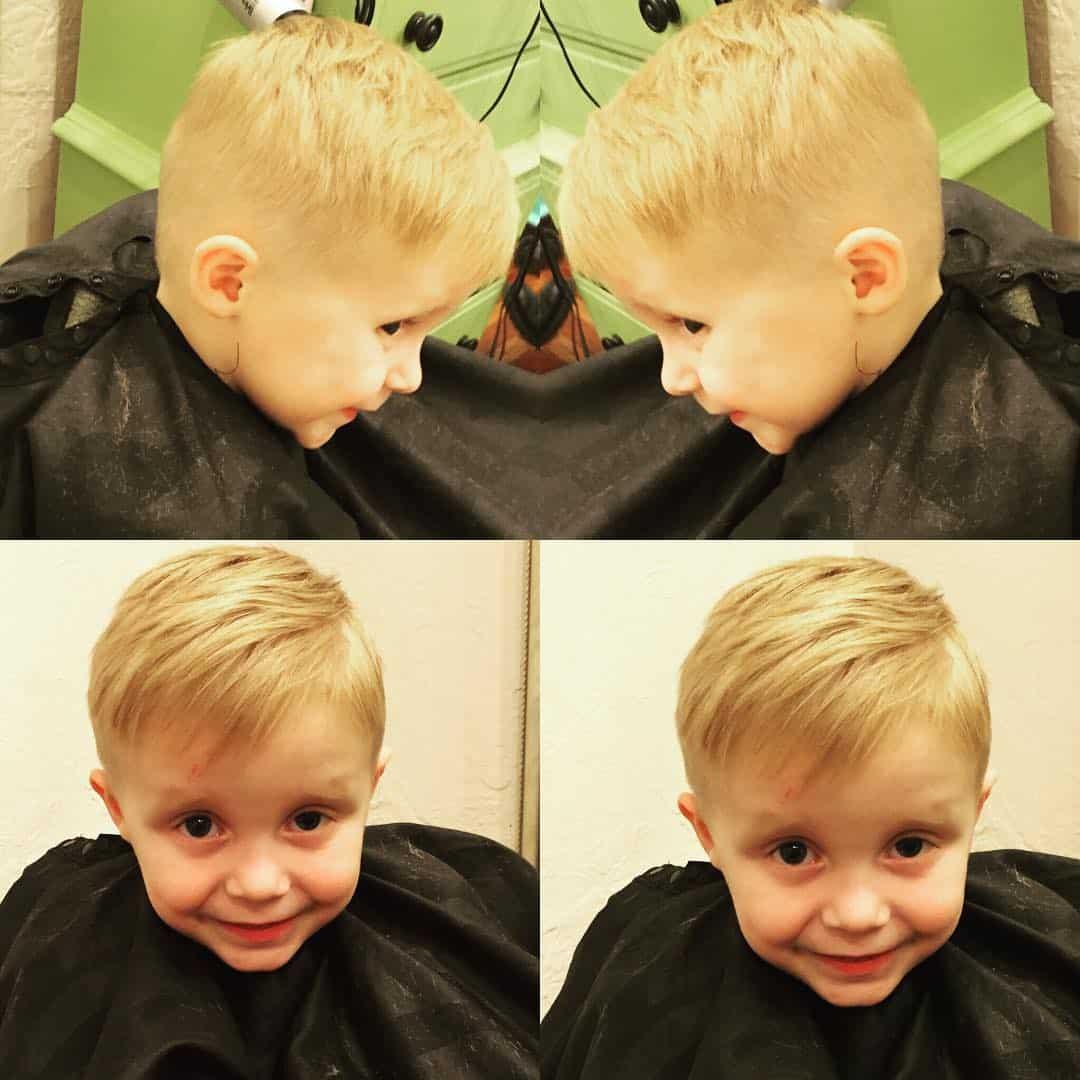 Prime 40 Sweet Little Boy Haircuts Most Parents Prefer Short Hairstyles For Black Women Fulllsitofus