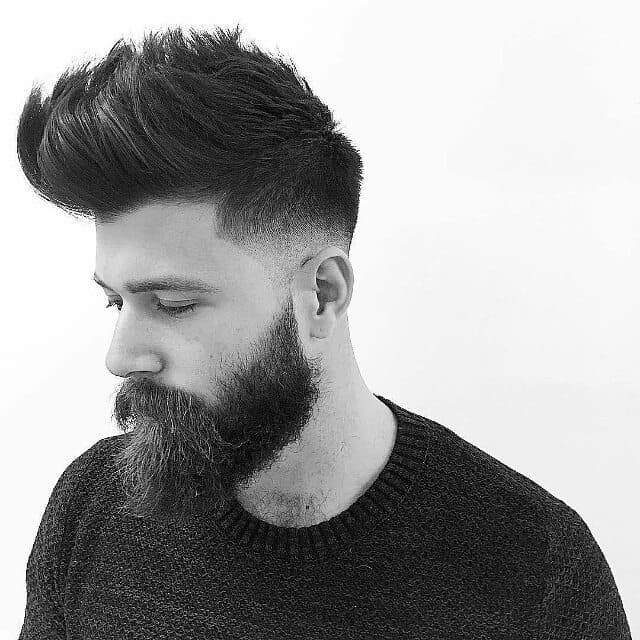 pompadour haircut