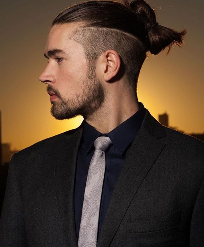 Undercut Hairstyle Long Hair Male Nice
