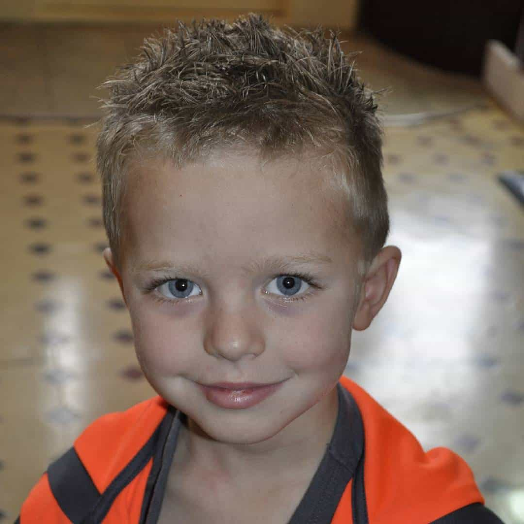 Elegant Little Boy Haircuts