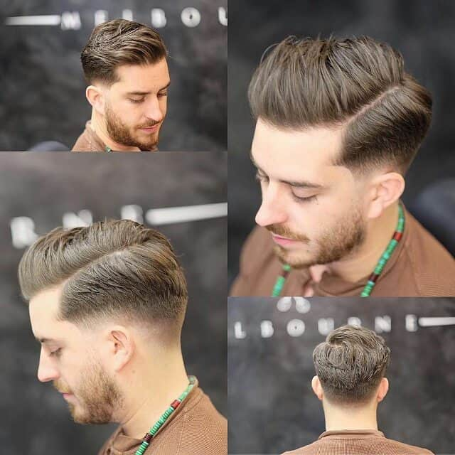 39 Side Swept Undercut. Short Haircuts For Men