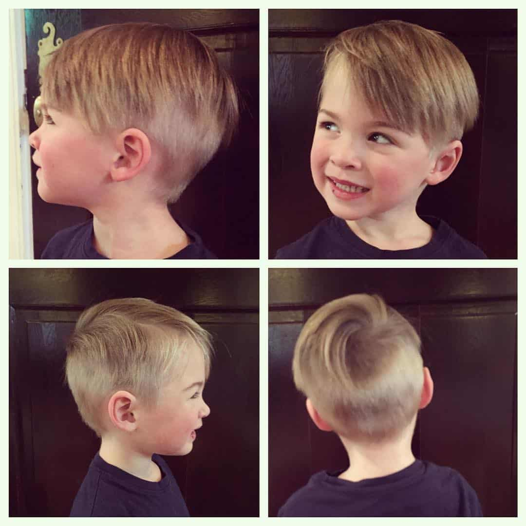 Strange 40 Sweet Little Boy Haircuts Most Parents Prefer Hairstyles For Women Draintrainus