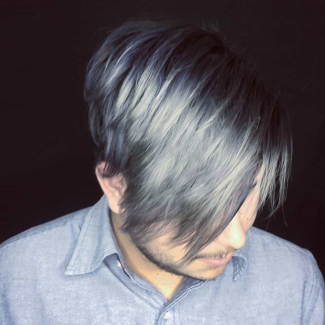 15 Long Grey Hair Color