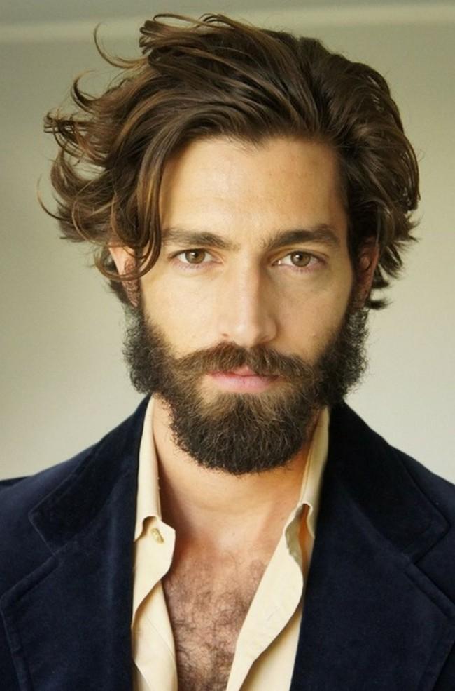 Peachy 50 Trendy Mens Hairstyles For Long Hair 2016 Hairstyles For Men Maxibearus