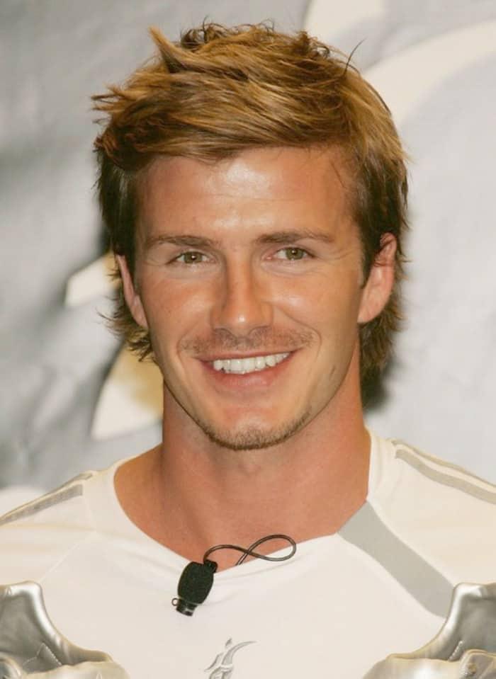 David Beckham Hairs - All Hairstyles Through The Years