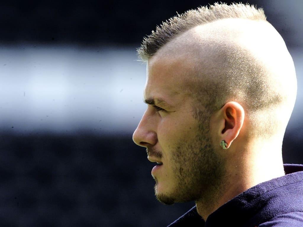 david beckham haircut