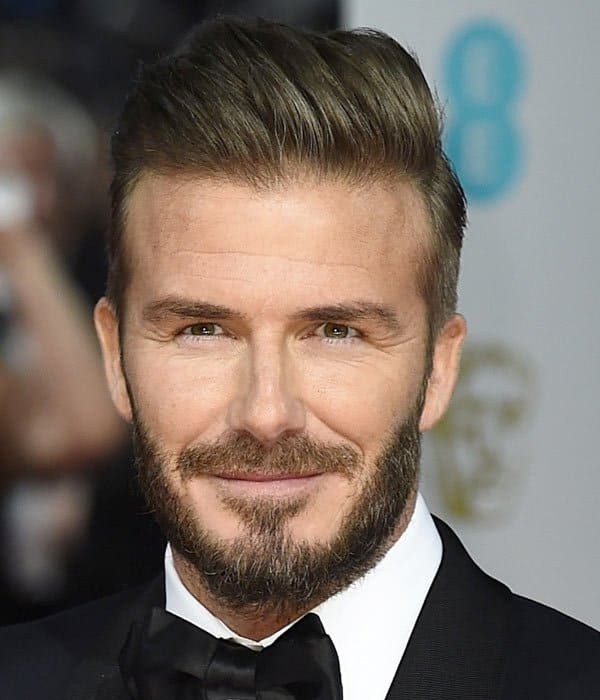 Pleasant David Beckham Hairs All Hairstyles Through The Years Hairstyles For Women Draintrainus