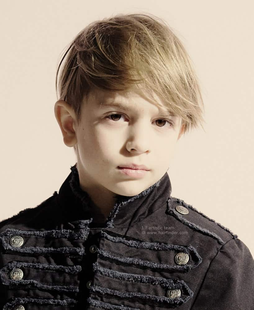 Hasil gambar untuk Choppy Layers haircuts for kids boys