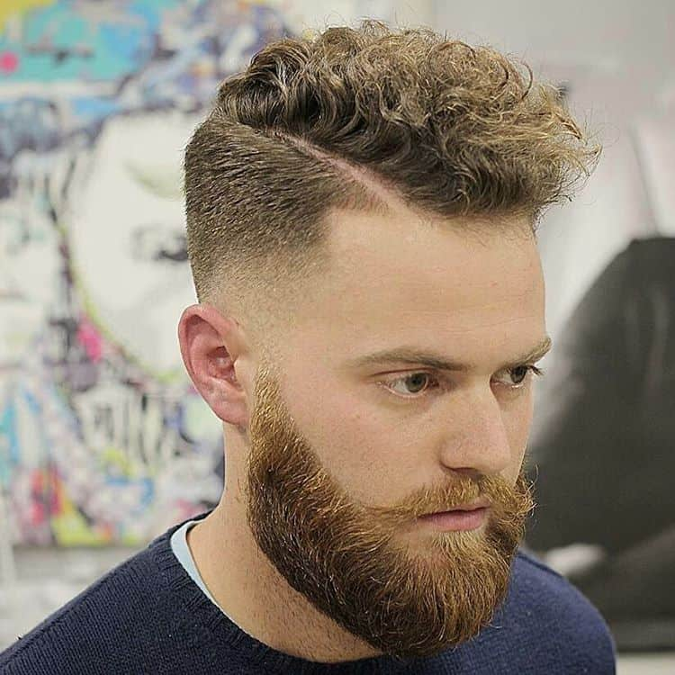 Curly Top & Beard