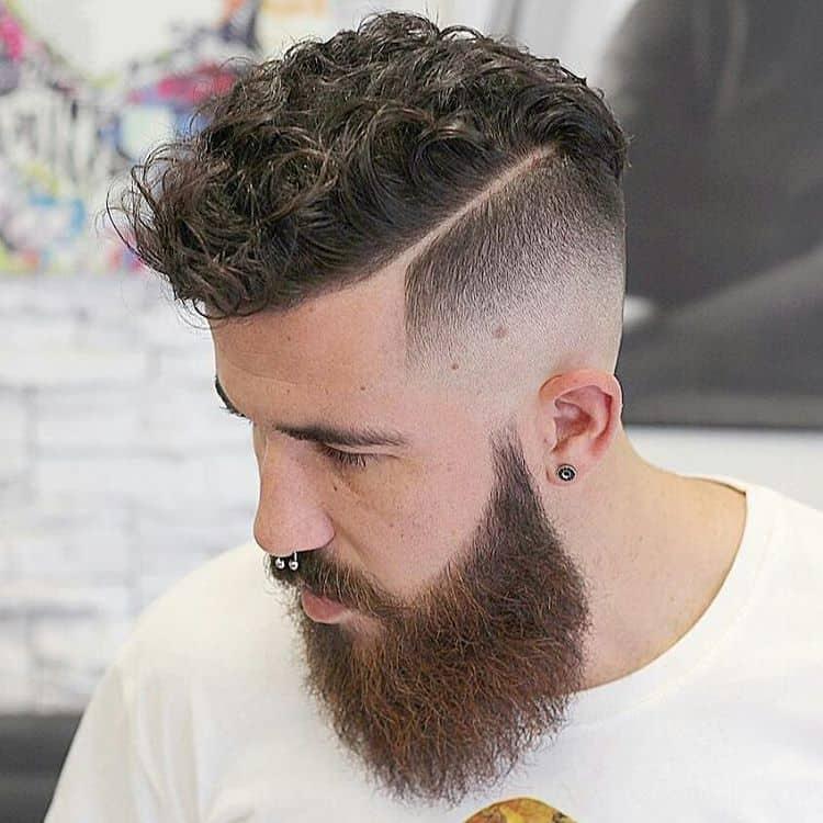 Curly Top & Beard