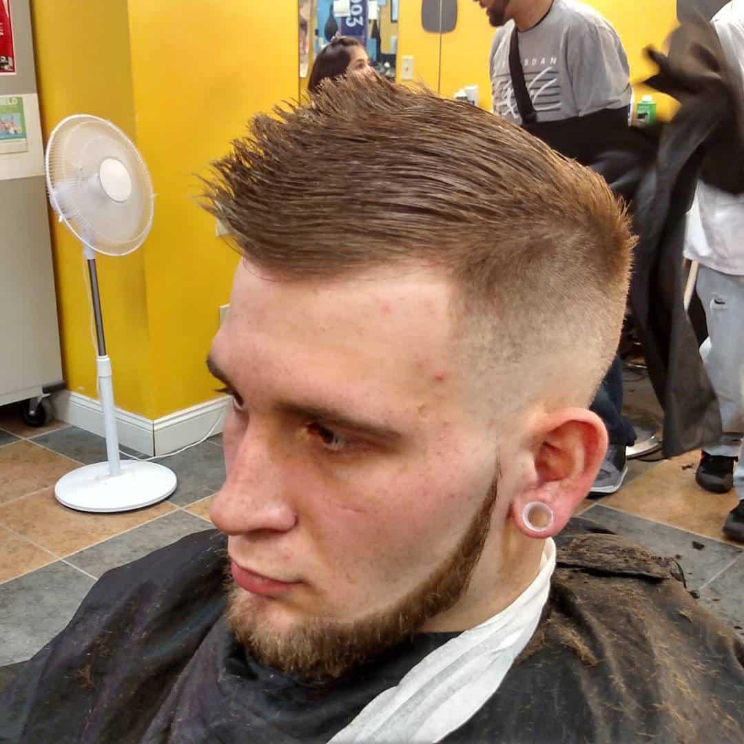 Причёска могавк как сделать