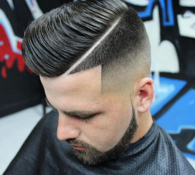85 Popular Hard Part Haircut Ideas