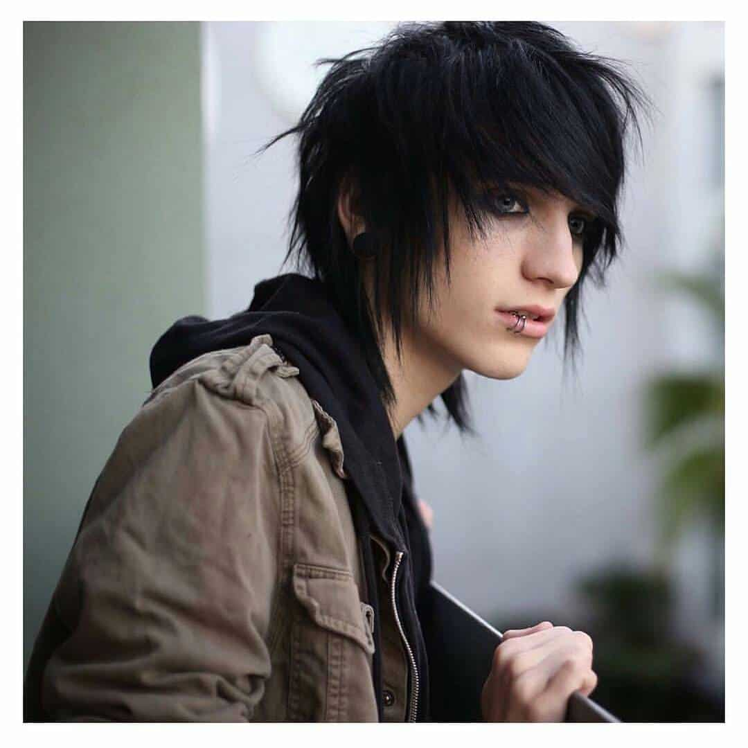 Peachy 40 Cool Emo Hairstyles For Guys Creative Ideas Short Hairstyles For Black Women Fulllsitofus