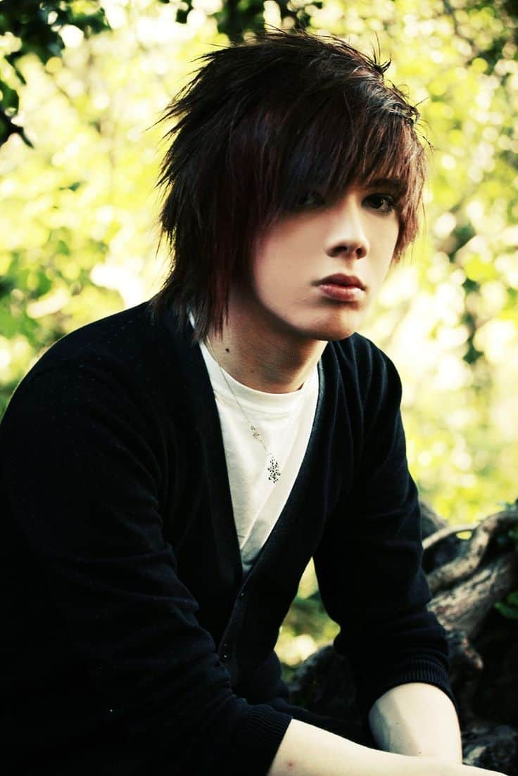 Peachy 40 Cool Emo Hairstyles For Guys Creative Ideas Hairstyles For Women Draintrainus