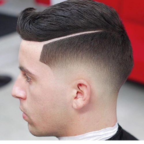 35 Stylish Hard Part Haircut Ideas Choose Yours