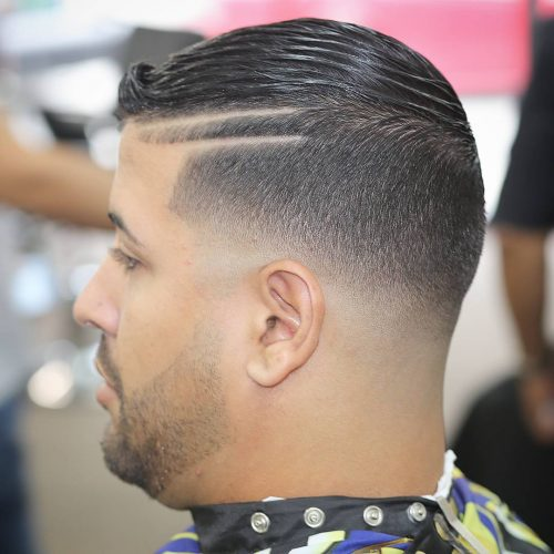 35 Stylish Hard Part Haircut Ideas Choose Yours