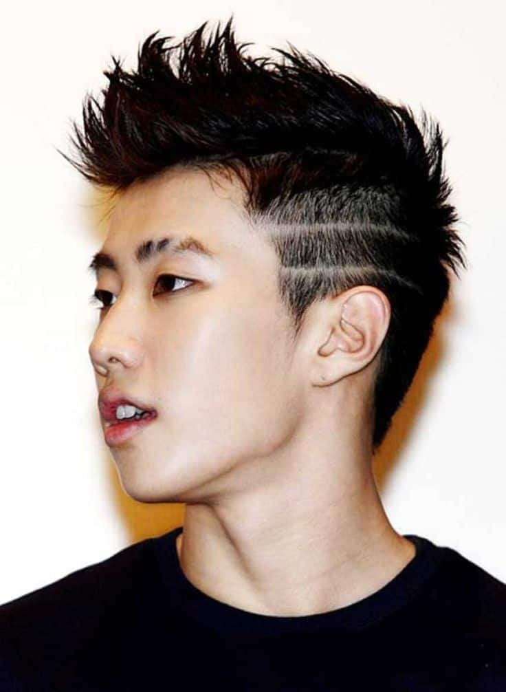 85 Charming Asian Hairstyles For Men