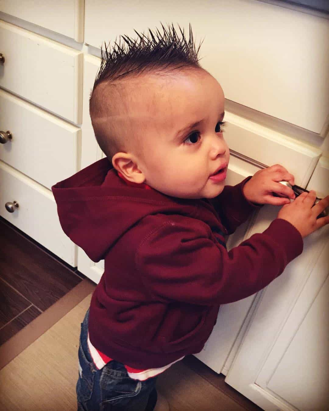Amazing 25 Cute Baby Boy Haircuts For Your Lovely Toddler Short Hairstyles For Black Women Fulllsitofus