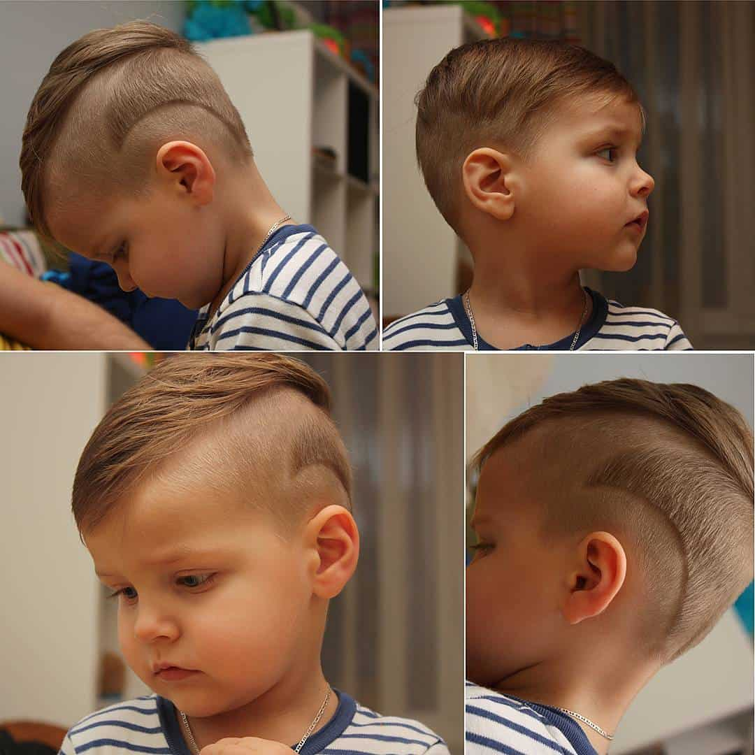 Admirable 25 Cute Baby Boy Haircuts For Your Lovely Toddler Hairstyles For Men Maxibearus