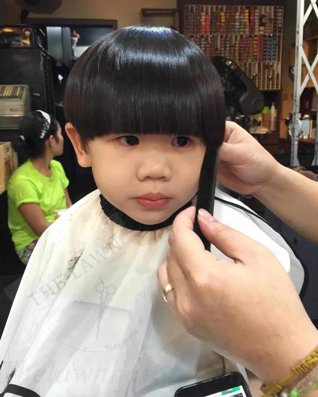 baby boy haircuts