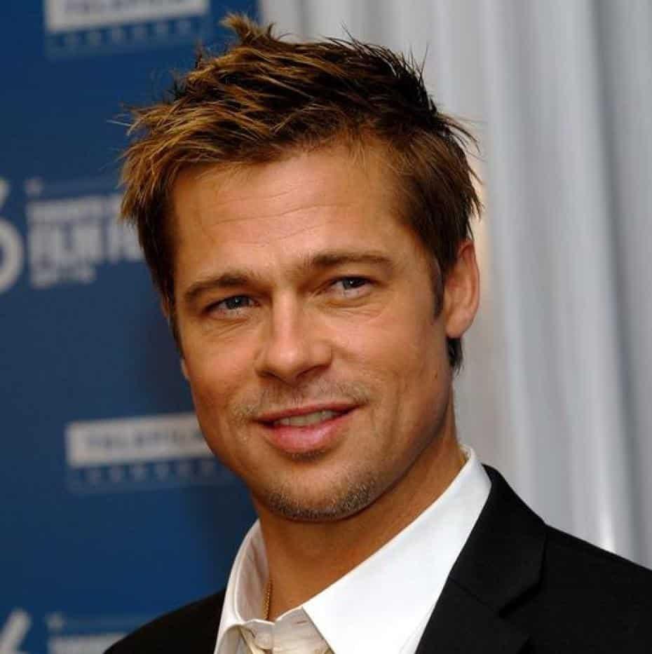 11 Charming Brad Pitt Hairstyles - Styling Ideas (11)