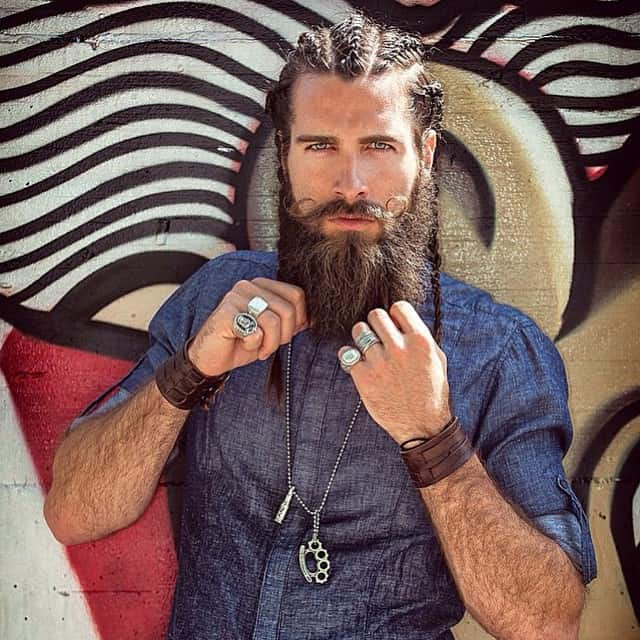 Marvelous 30 Masculine Braids For Long Hair Be Unique Amp Stylish Hairstyles For Men Maxibearus
