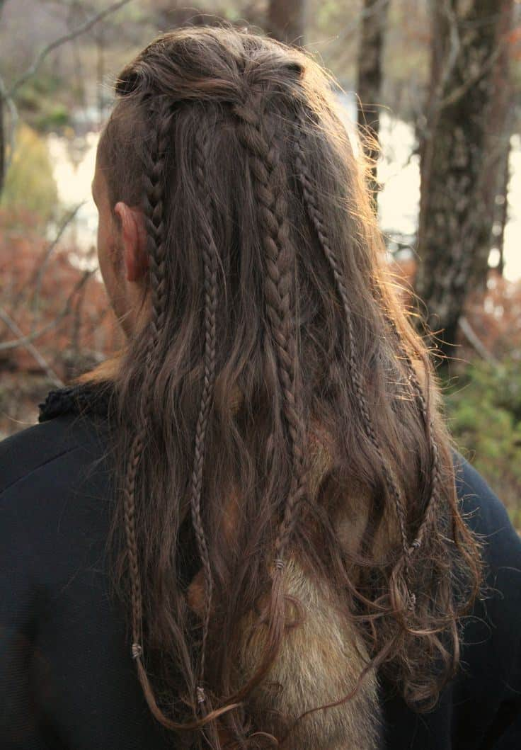 Tremendous 30 Masculine Braids For Long Hair Be Unique Amp Stylish Hairstyles For Men Maxibearus