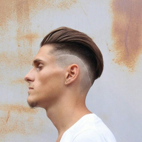 side cornrow hairstyles : 45 Tasteful Comb Over Haircuts - Be Creative
