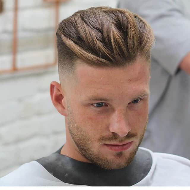 100 Tasteful Comb Over Haircuts - [Be Creative in 2019]