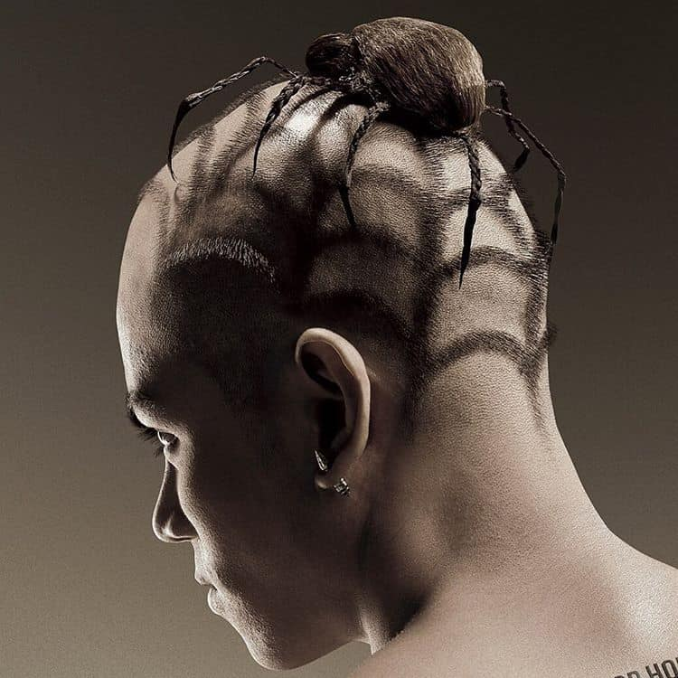 Incredible 30 Stylish Crazy Hairstyles For Brave Men Pure Art Hairstyles For Men Maxibearus