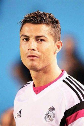 Cristiano Ronaldo Hair Design With Lines | newhairstylesformen2014.com