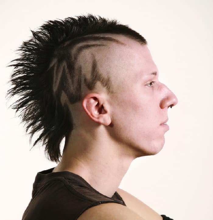emo hairstyles for guys with thin hair
