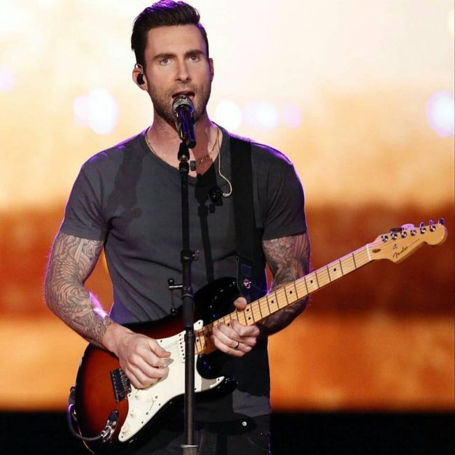 Adam Levine Haircut 28