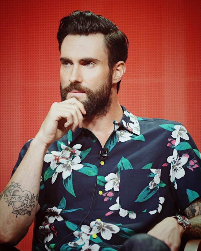 Adam Levine Haircut 29
