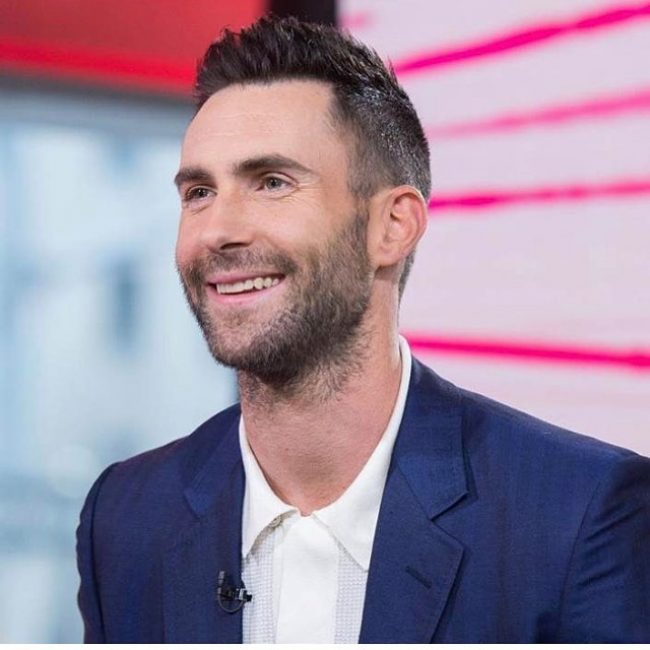 Adam Levine Haircut 31
