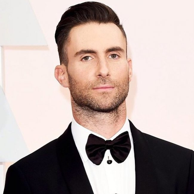 Adam Levine Haircut 33