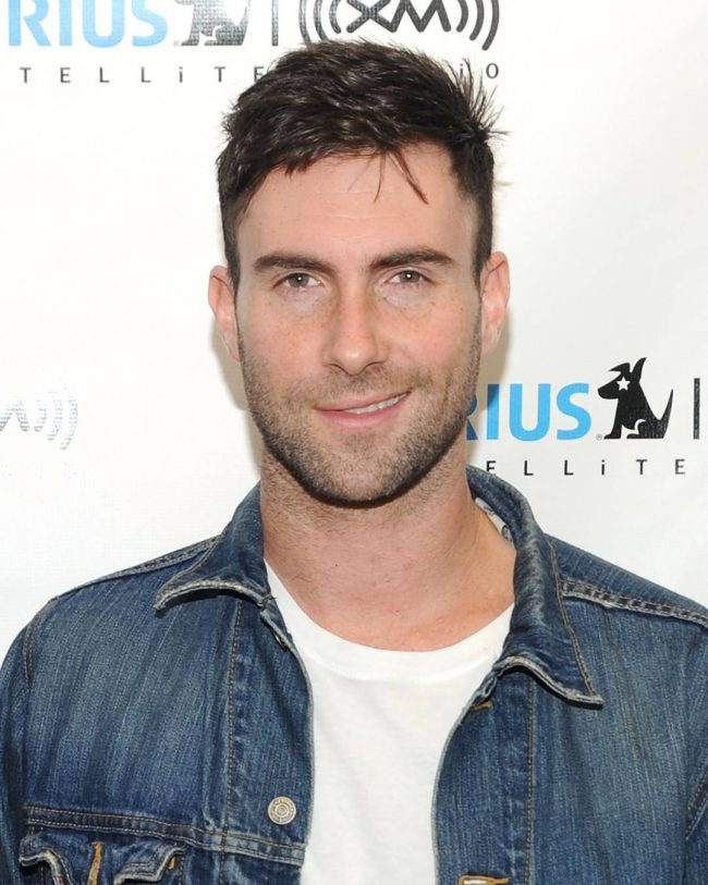 Adam Levine Haircut 35