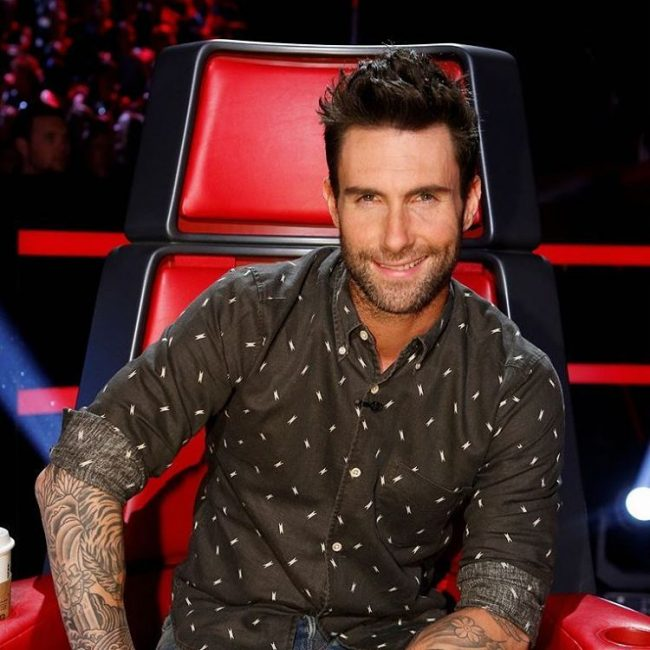 Adam Levine Haircut 36