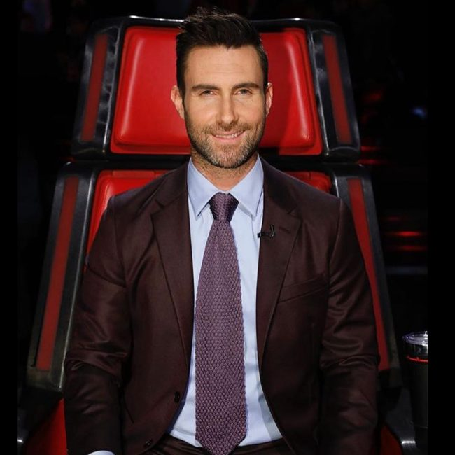 Adam Levine Haircut 38