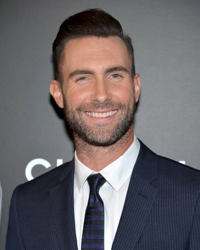 Adam Levine Haircut 41
