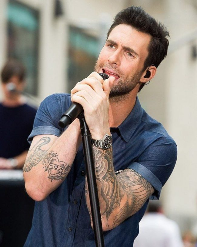Adam Levine Haircut 42