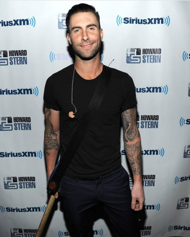 Adam Levine Haircut 43