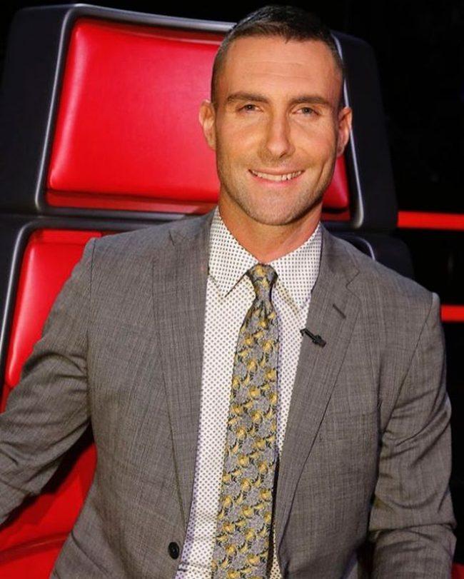 Adam Levine Haircut 45