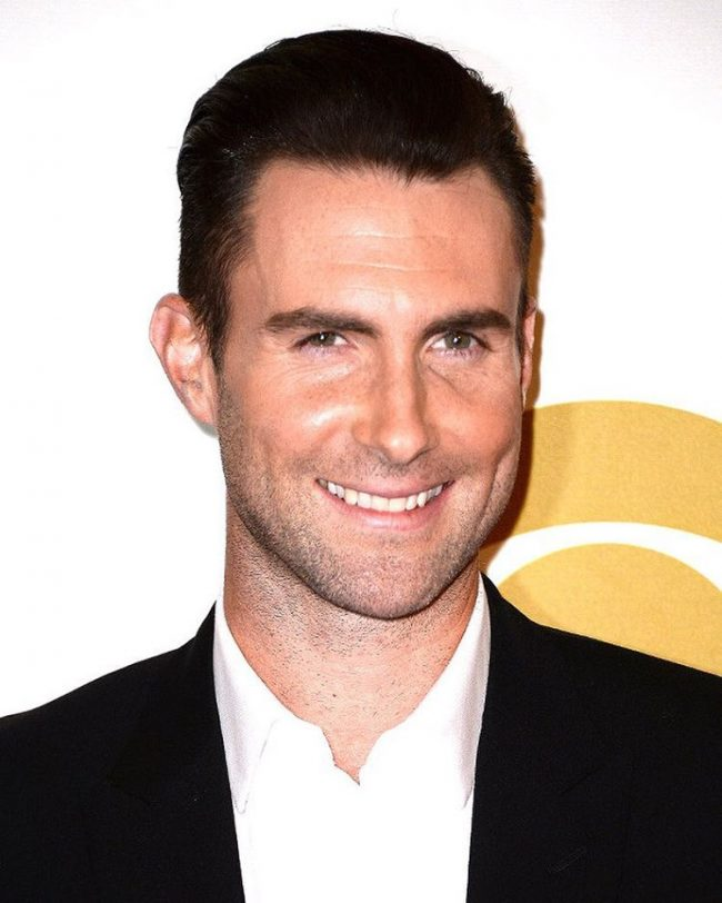 Adam Levine Haircut 46