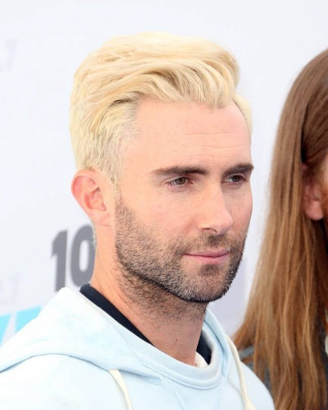 Adam Levine Haircut 47