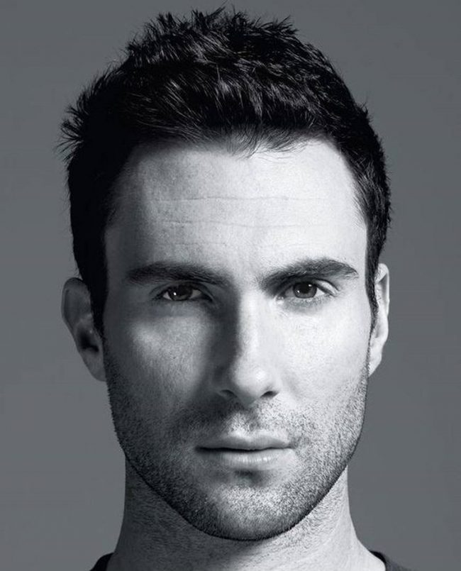 Adam Levine Haircut 49