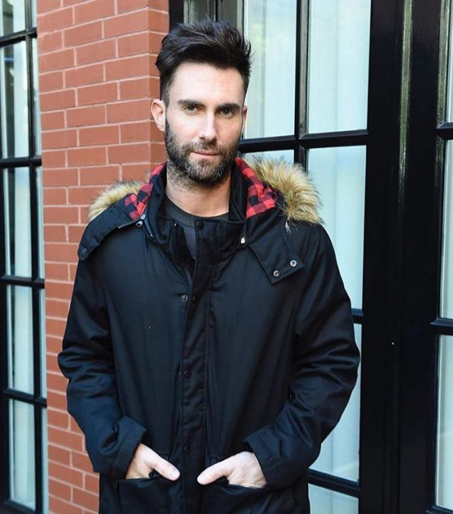 Adam Levine Haircut 50